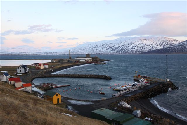 Hjalteyri the small fishing village