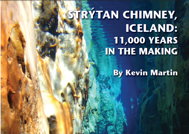 Strýtan Chimney – 11.000 years in the making!